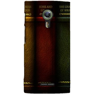 FUSON Designer Back Case Cover For Alcatel Flash 2 :: Alcatel Onetouch Flash 2 (Grapes Of Wrath Sons And Lovers Arthur Koestler)