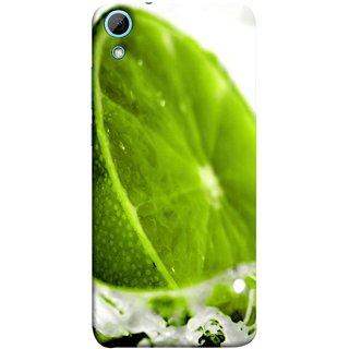FUSON Designer Back Case Cover For HTC Desire 826 :: HTC Desire 826 Dual Sim (Lemon Lime Sweet Agriculture Farm Fresh Cut Cell)
