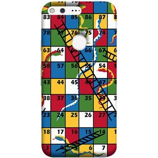 FUSON Designer Back Case Cover For Google Pixel XL (Sap Sidi Game India Fevorite Children Boys Girls )