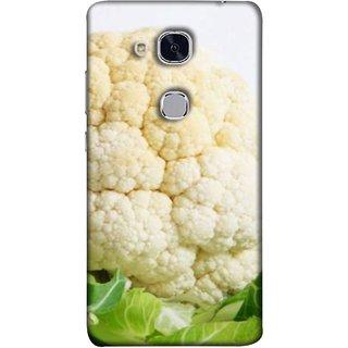 FUSON Designer Back Case Cover For Huawei Honor 5c :: Huawei Honor 7 Lite :: Huawei Honor 5c GT3 (Organic Cauliflower Background Table Farmer Subji)