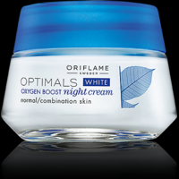 Oriflame Optimals White Oxygen Boost Night Cream  For Normal/combination Skin