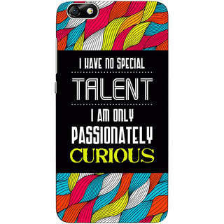 Sketchfab Quote  Totu TPU Ultra Thin PREMIUM LATEST DESIGNER PRINTED CASE COVER For  Hauwei Honor 4X - Clear