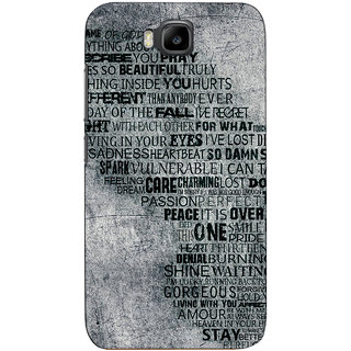 Sketchfab Quote  Totu TPU Ultra Thin PREMIUM LATEST DESIGNER PRINTED CASE COVER For Huawei Honor Bee - Clear