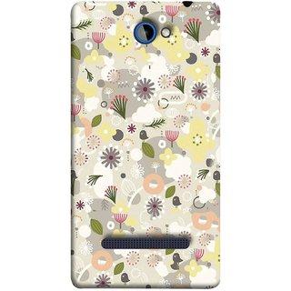 FUSON Designer Back Case Cover For HTC Windows Phone 8S :: HTC 8S (Elegant Gentle Trendy Pattern In Small Scale Flower)