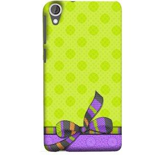 FUSON Designer Back Case Cover For HTC Desire 825 (Pista Green Colour Gift Wrap Packing Wallpaper)