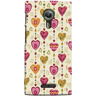 FUSON Designer Back Case Cover For Alcatel Flash 2 :: Alcatel Onetouch Flash 2 (Valentine Pink Metallic Cool Peace Sign Symbol Pillow)