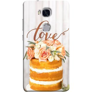 FUSON Designer Back Case Cover For Huawei Honor 5X :: Huawei Honor X5 :: Huawei Honor GR5 (Comes True Love You Forever Valentine Couples Lovers)
