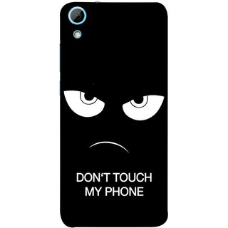 FUSON Designer Back Case Cover For HTC Desire 826 :: HTC Desire 826 Dual Sim (Nice Best Quotes Words Saying Motivational Angry Eyes)
