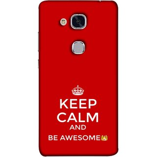 FUSON Designer Back Case Cover For Huawei Honor 5c :: Huawei Honor 7 Lite :: Huawei Honor 5c GT3 (Beautiful Hearts Always Stay Silent & Be Goodto Others)