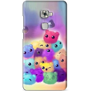 Snooky Printed Cutipies Mobile Back Cover For Huawei Mate S - Multi