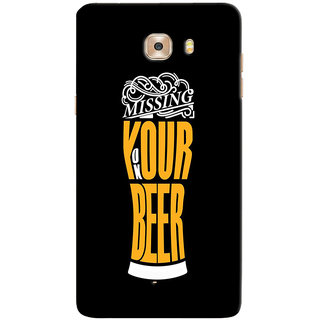 Sketchfab Beer  Totu TPU Ultra Thin PREMIUM LATEST DESIGNER PRINTED CASE COVER For Samsung Galaxy C9 Pro