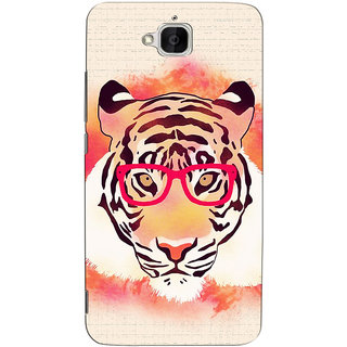 Sketchfab Tiger Pattern  Totu TPU Ultra Thin PREMIUM LATEST DESIGNER PRINTED CASE COVER For  Huawei Honor Holly 2 Plus - Clear