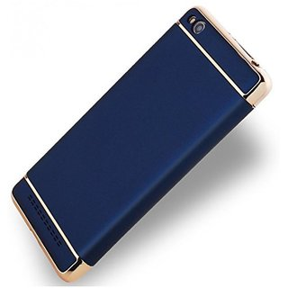 Redmi 4A Plain Cases 2Bro - Blue