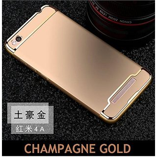 Redmi 4A Plain Cases SUNNY FASHION - Golden