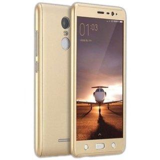 Redmi Note 4 Plain Cases Doyen Creations - Golden