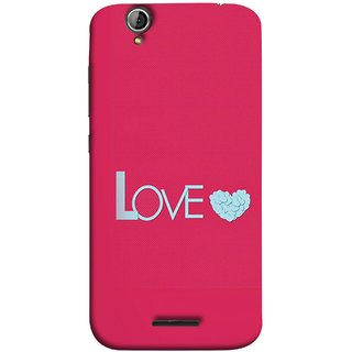 FUSON Designer Back Case Cover For Acer Liquid Z630 :: Acer Liquid Zade Z630S (Best Gift For Valentine Friends Lovers Couples Baby Pink Red )