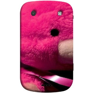 FUSON Designer Back Case Cover For BlackBerry Bold Touch 9900 :: BlackBerry Dakota :: BlackBerry Magnum (Best Gift For Valentine Friends Lovers Couples Baby Pink Red )