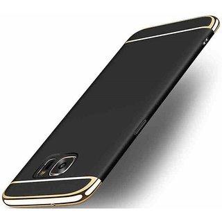 Samsung Galaxy J7 Max Plain Cases ClickAway - Black