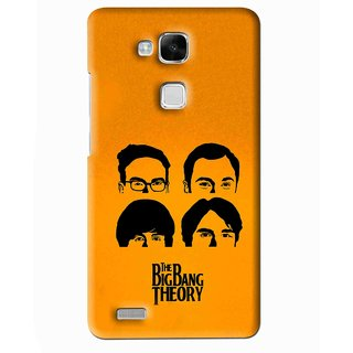 Snooky Printed Bigbang Mobile Back Cover For Huawei Ascend Mate 7 - Multi