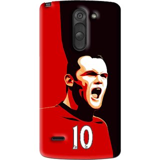 Snooky Printed Sports ManShip Mobile Back Cover For Lg G3 Stylus - Multi