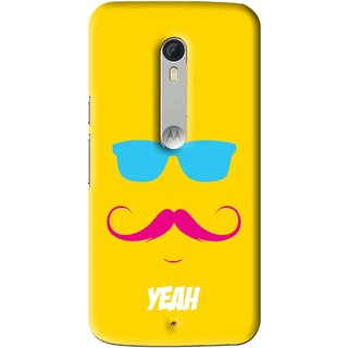 Snooky Printed  Mobile Back Cover For  - Yellow