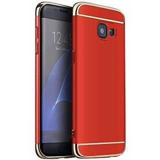 Samsung Galaxy J7 Prime Plain Cases 2Bro - Red