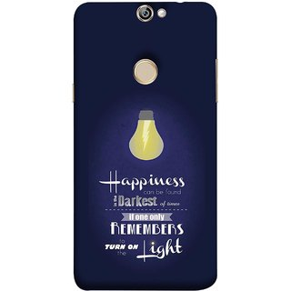 FUSON Designer Back Case Cover For Coolpad Max A8 (If Only One Remembers To Turn On The Light)