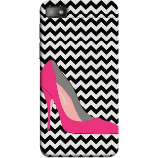 FUSON Designer Back Case Cover For BlackBerry Z10 (High Pencil Heel For Girls Womans Professional)
