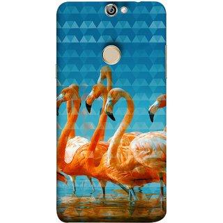 FUSON Designer Back Case Cover For Coolpad Max A8 (Animal Birds Long Beak Beautiful Wallpaper Designs)