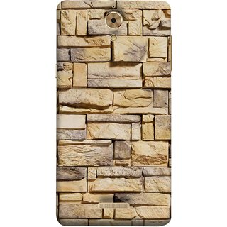 FUSON Designer Back Case Cover For Coolpad Mega 2.5D (Wall Of Colored Stone Used As A Background)