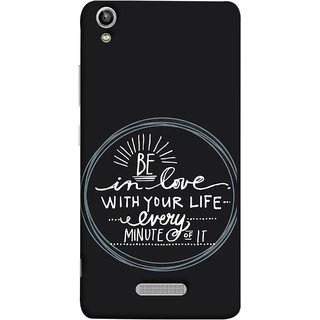 FUSON Designer Back Case Cover For Lava Pixel V1 (Every Minute Of It Always Like Enjoy Happy Cool Relax)