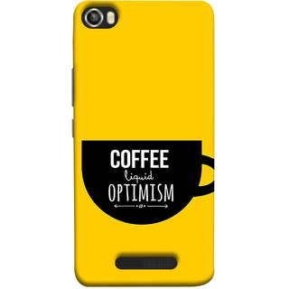 FUSON Designer Back Case Cover For Lava Iris X8 (Lost Bumblebee Right Coffee Fuel Buy Gourmet Coffee)