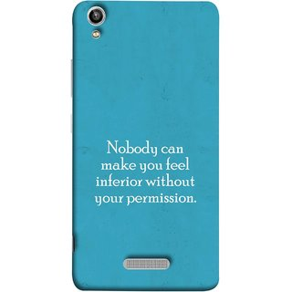 FUSON Designer Back Case Cover For Lava Pixel V1 (Permission Motivational Inspirational Saying Quotes)
