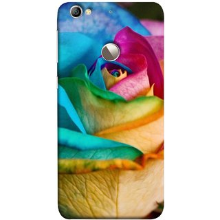 FUSON Designer Back Case Cover For LeEco Le 1s :: LeEco Le 1s Eco :: LeTV 1S (Rose Colours Red Pink Yellow Blue Lovely Roses)