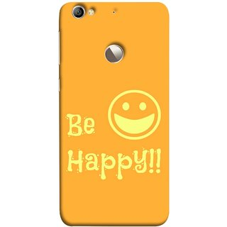 FUSON Designer Back Case Cover For LeEco Le 1s :: LeEco Le 1s Eco :: LeTV 1S (Big Smile Best Wallpapers Inspiration Quote)