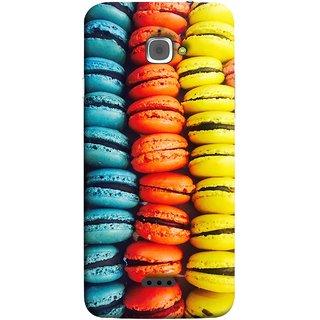 FUSON Designer Back Case Cover For InFocus M350 (Homemade Veggie Burgers With Sweet Potato )