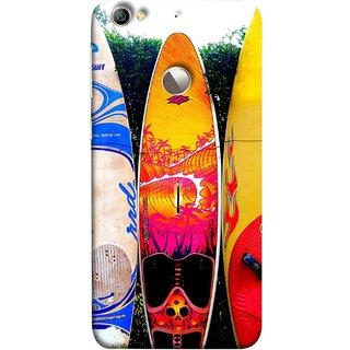 FUSON Designer Back Case Cover For LeEco Le 1s :: LeEco Le 1s Eco :: LeTV 1S (In Garden Standing Nice Design Ocean Games )
