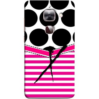 FUSON Designer Back Case Cover For LeEco Le 2s :: LeEco Le 2 Pro :: LeTV 2 Pro :: Letv 2 :: LeEco Le 2 (Beautiful Cute Nice Couples Pink Design Paper Girly)