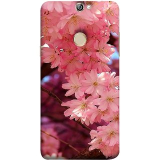 FUSON Designer Back Case Cover For Coolpad Max A8 (Flowering Cherry Trees Pink Perfection Lovely Love )