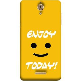FUSON Designer Back Case Cover For Coolpad Mega 2.5D (Big Smiley Smiling Positive Wallpaper Back Cover)