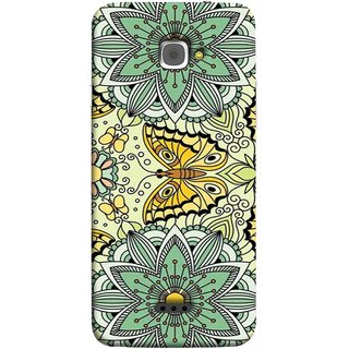 FUSON Designer Back Case Cover For InFocus M350 (Vintage Floral Seamless Pattern With Roses Leaves )