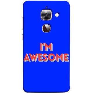 FUSON Designer Back Case Cover For LeEco Le 2s :: LeEco Le 2 Pro :: LeTV 2 Pro :: Letv 2 :: LeEco Le 2 (I Am Lovely Wow Fact Motivational Inspirational Words)