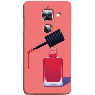 FUSON Designer Back Case Cover For LeEco Le 2s :: LeEco Le 2 Pro :: LeTV 2 Pro :: Letv 2 :: LeEco Le 2 (Beautiful Cute Nice Couples Pink Design Paper Girly)