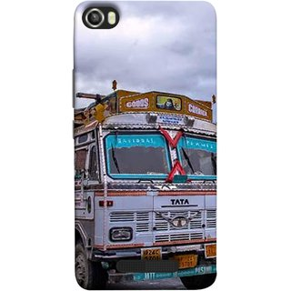 FUSON Designer Back Case Cover For Lava Iris X8 (Decorated Goods Carrier On Mountain Road In The Himalayas )