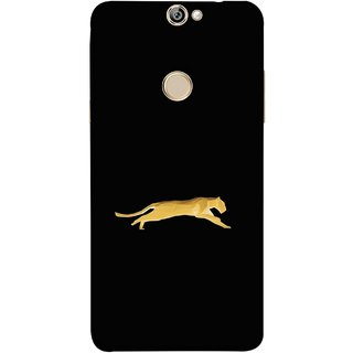 FUSON Designer Back Case Cover For Coolpad Max (Wild Jungle Tigers Whisker Roaring Sitting Safari India)