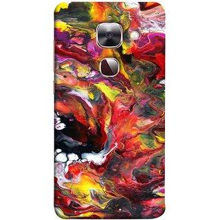 FUSON Designer Back Case Cover For LeEco Le 2s :: LeEco Le 2 Pro :: LeTV 2 Pro :: Letv 2 :: LeEco Le 2 (Art Gallery Style Wallpaper Wow Perfect Wall Paint)