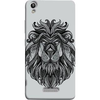FUSON Designer Back Case Cover For Lava Pixel V1 (Jungle Ka King Pencil Pen Sketch Best Wallpaper)