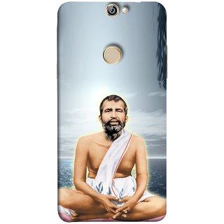 FUSON Designer Back Case Cover For Coolpad Max (King Beautiful Frame God His Mission Blesses Eagle)