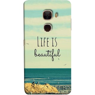 FUSON Designer Back Case Cover For LeTv Le Max :: LeEco Le Max  (Adorable Wallpapers Best Quotes Enjoy Together Happy)