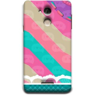 FUSON Designer Back Case Cover For Coolpad Note 5 (Paper Sheet Design Perfect Back Cover Saree Suits Women Girls )
